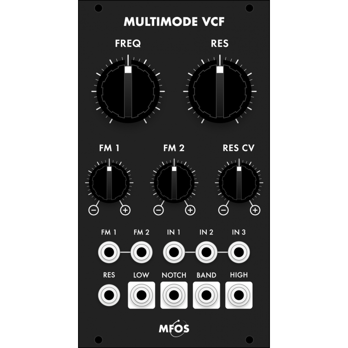mfos euro multimode vcf smt, black version