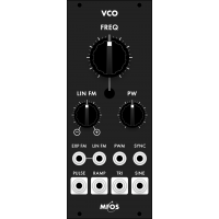 mfos euro vco smt, black version